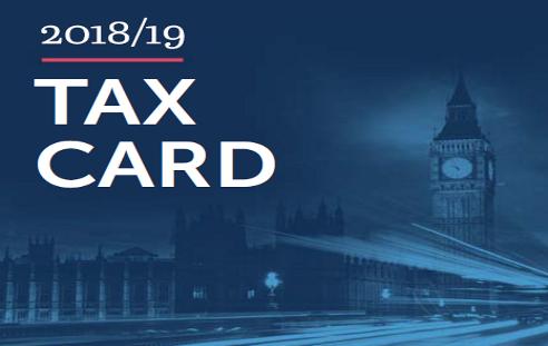 Tax Card 2018-19