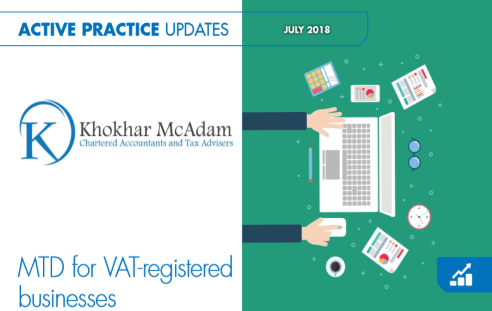 MTD for VAT - July 2018