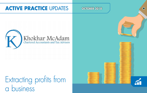 Extracting Profits From a business - October 2018