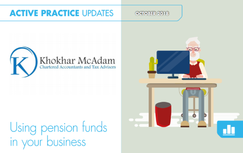 Using Pension Funds in Your Business - October 2018