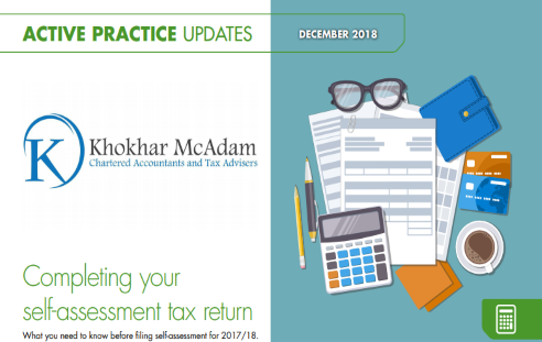 Completing your self-assessment tax return 2018